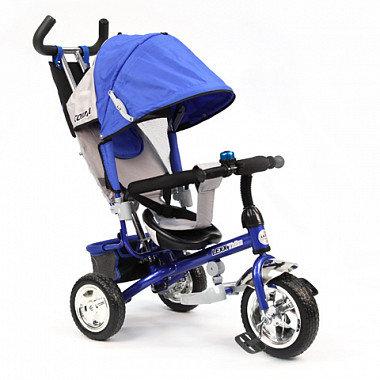 GT6386 LEXX TRIKE 3 колеса пластиковые памперс рюкзак страх.ремень / синий