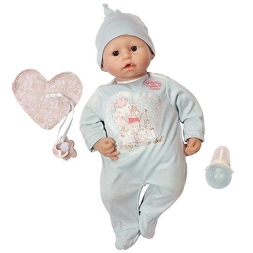 Кукла-мальчик Baby Annabell с мимикой