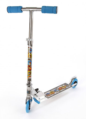 Скутер X-Match Be Cool PVC / 100мм / синий