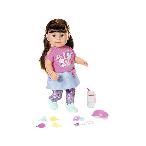 Игрушка Кукла BABY born Сестричка брюнетка