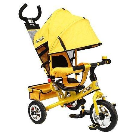 Велосипед GT7968 SAFARI TRIKE 3 колеса пластиковые / жёлтый
