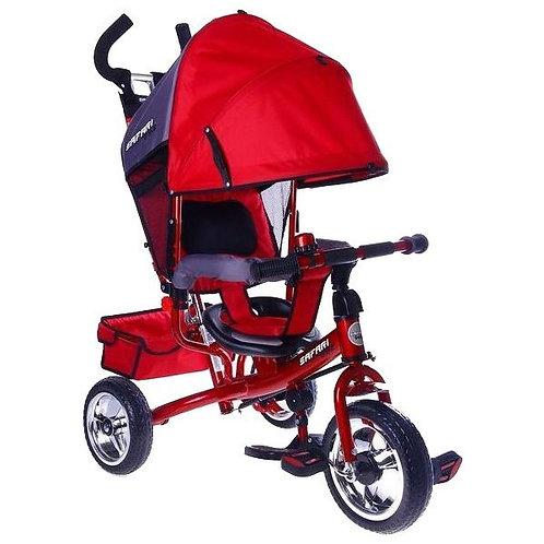 Велосипед GT7966 SAFARI TRIKE 3 колеса пластиковые / красный
