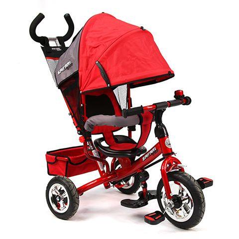 Велосипед GT7867 SAFARI TRIKE 3 колеса надувные / красный