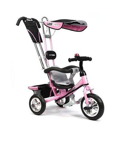 GT5546 LEXX TRIKE 3 колеса пластиковые памперс рюкзак страх.ремень / розовый