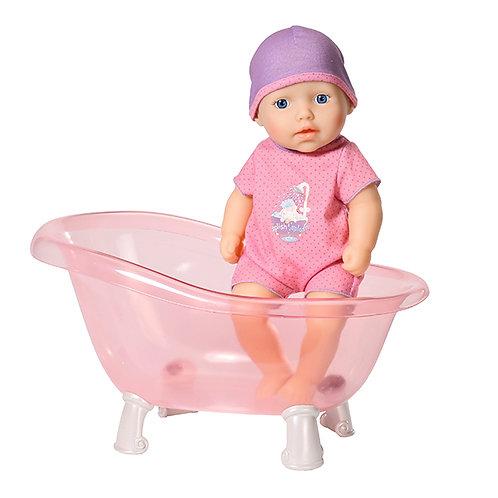 Игрушка my first Baby Annabell Кукла твердотелая с ванночкой