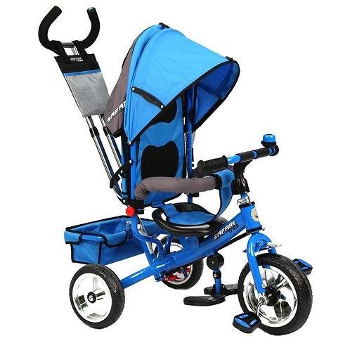 Велосипед GT7967 SAFARI TRIKE 3 колеса пластиковые / синий