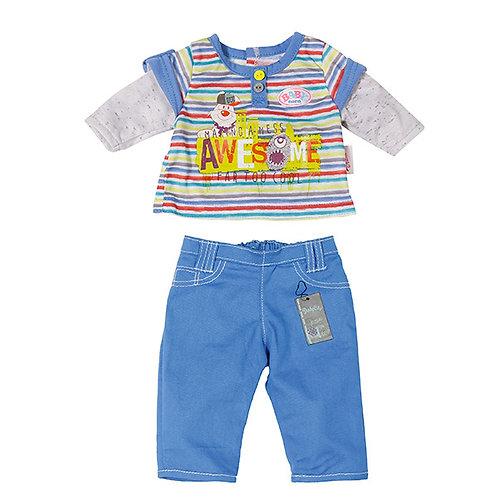 Игрушка BABY born Одежда Стильная для мальчика