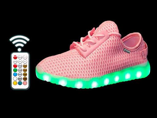 Светодиодная обувь Heelys UFO pink