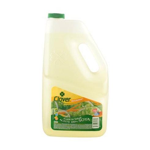 Aceite soya Clover 3000 ml