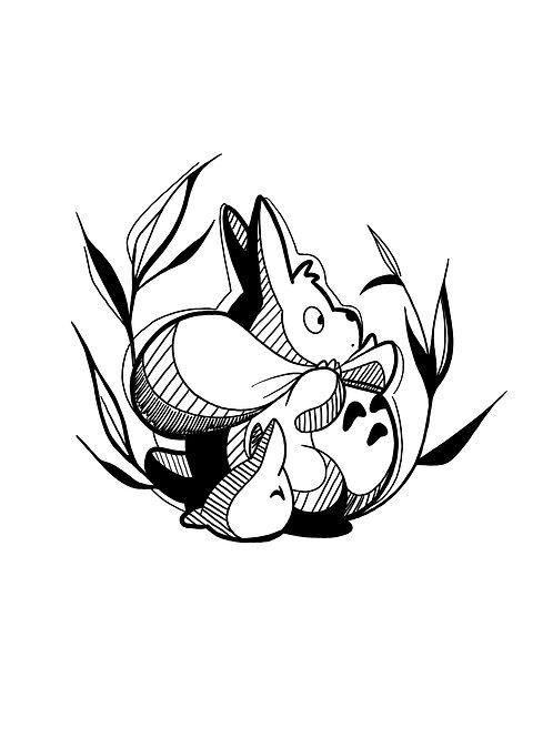 Totoro friend