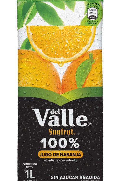 Jugo de naranja del calle