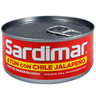 ATÚN SARDIMAR JALAPEÑO 140 g