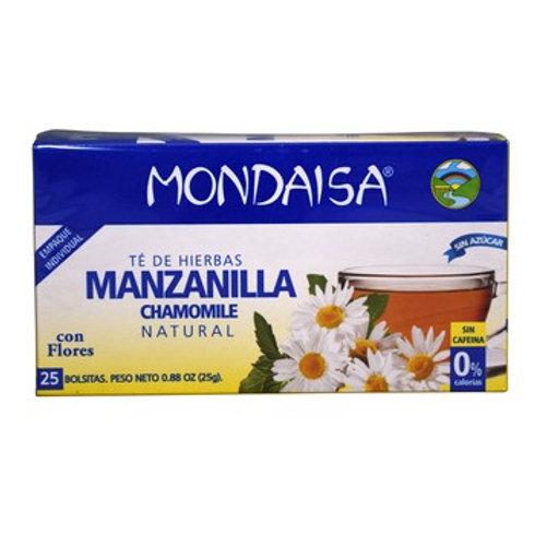 Te Mondaisa Manzanilla 25 bolsas