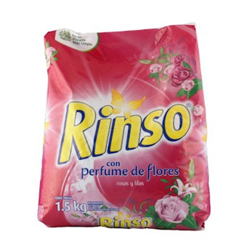 DETER RINSO FLORES/ VERANO 500 GRS