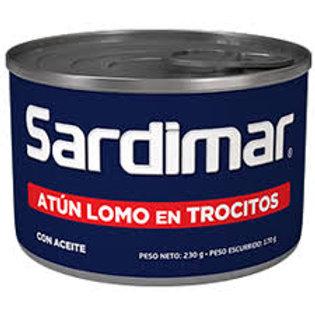 ATÚN SARDIMAR TROCITOS AZÚL 230 g
