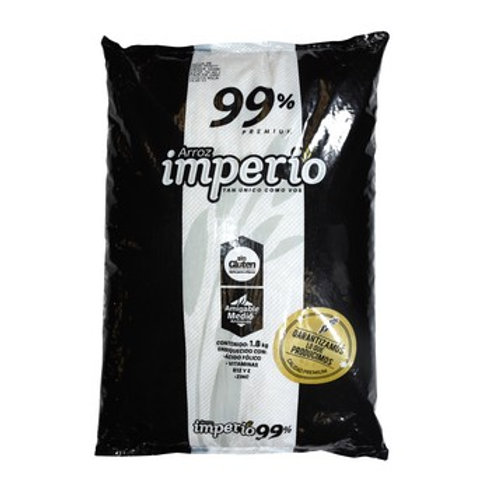 IMPERIO, ARROZ BLANCO 99% paquete 1800 g