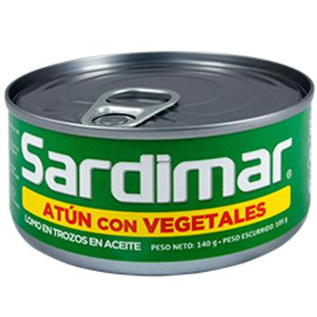 ATÚN SARDIMAR VEGETAL 140 g