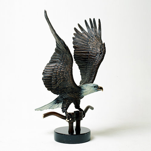 Wings of Eagles - Bronze Sculpture