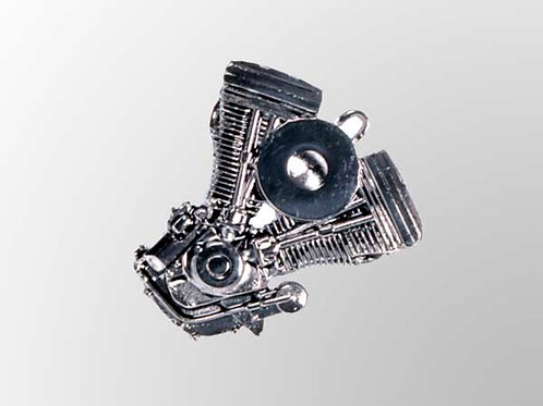 V-Twin Engine Key Fob