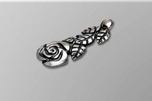 Rose Zipperpull or Pendant