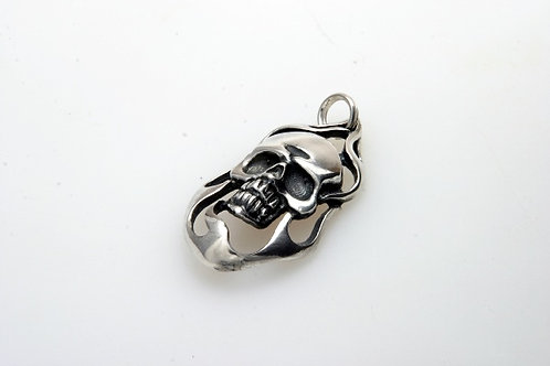 Skull Zipperpull or Pendant