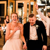 Wedding at Watermark Church in Dallas