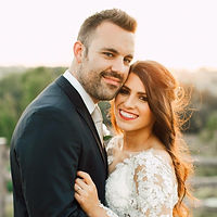 Beautiful wedding couple in Texas