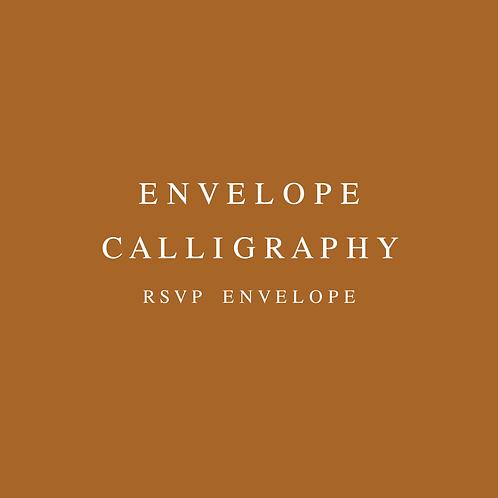 Envelope Calligraphy RSVP Envelopes