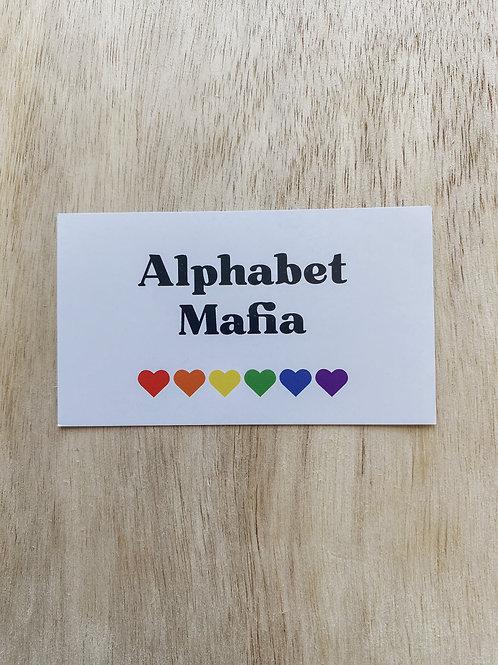 Alphabet Mafia Magnet