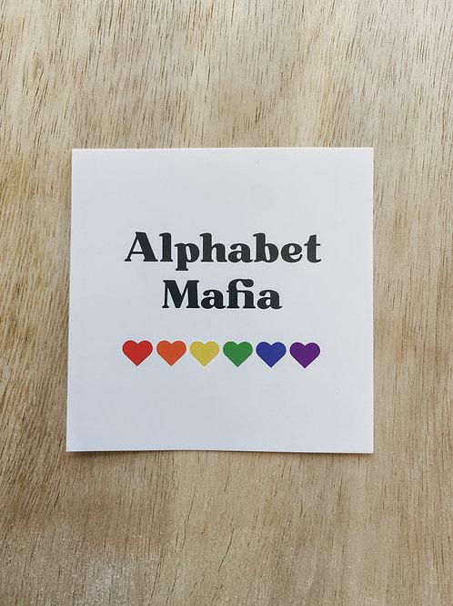Alphabet Mafia Sticker