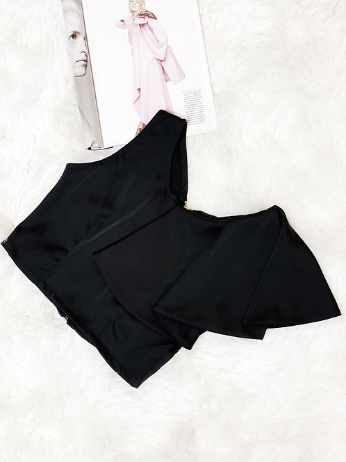 CROP TOP BOLERO UNA MANGA