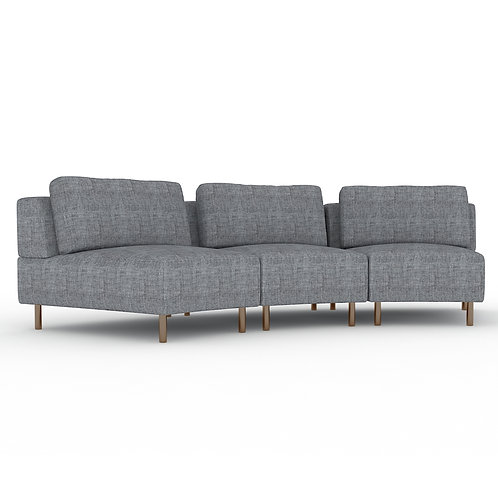 Ann 3-seater modular sofa