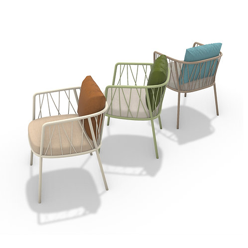 Reed outdoor chair