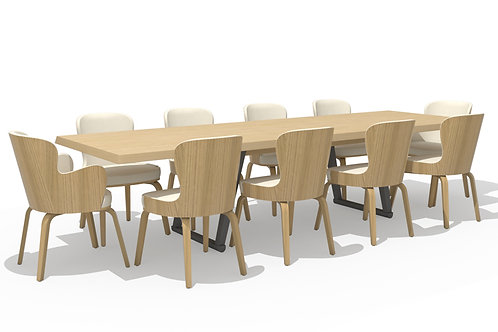 Eve table 3150 blond