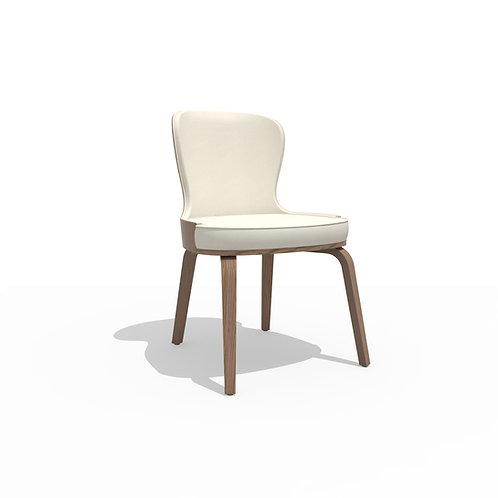 Boom chair U HB walnut