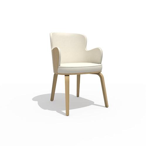 Boom armchair U oak B