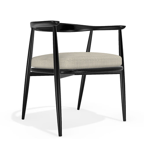 Sylt chair black