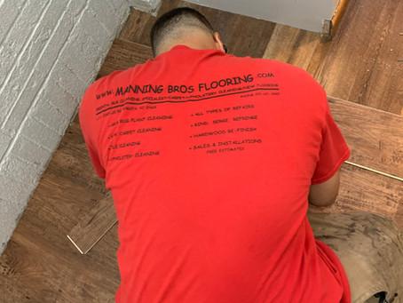 Flooring tools on the job (Carpet & Vinyl)