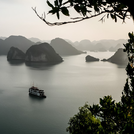 Die Hạ long Bucht