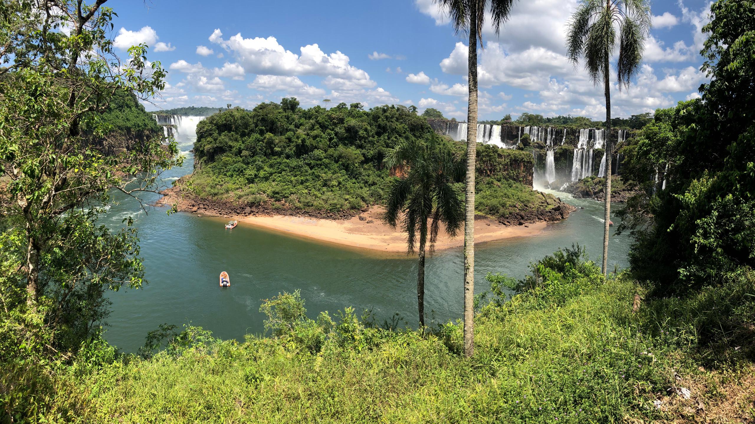 Iguazu Wasserfälle von der Argentinischen Seite