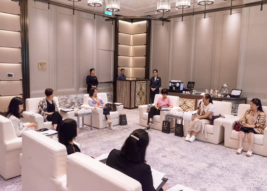 Exchange forum for Hengqin New Area Women's Federation 舉辦橫琴新區婦聯交流會