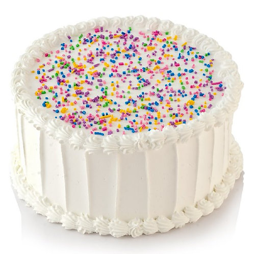 "6"" Single Layer Round Cake"