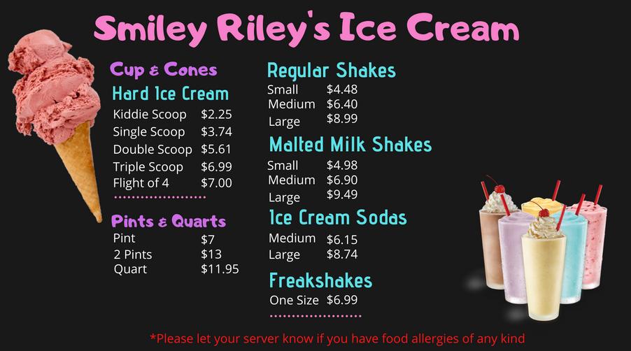 Ice Cream and Shakes
