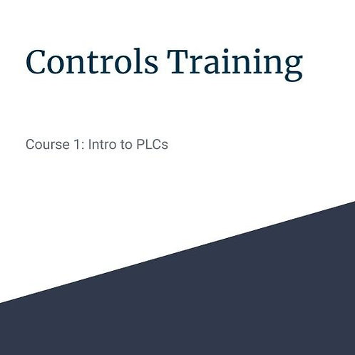 Course 1 - Intro to PLCs