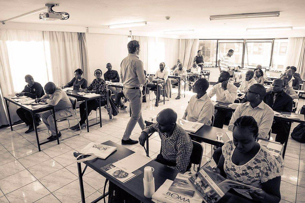 Beverageintelligence training course in action in Nairobi, Kenya.