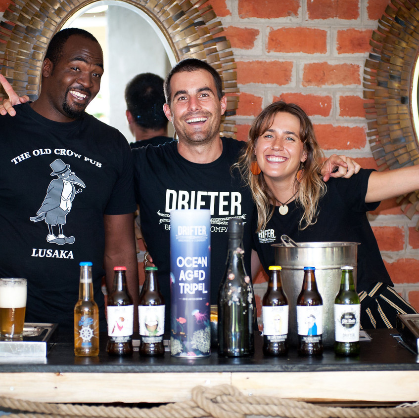 Fantastic crew from Drifters