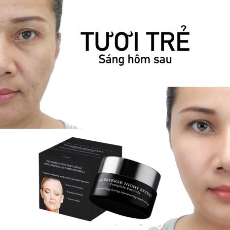 Căng da mặt, xoá nếp nhăn, trẻ hoá da tại nhà mà không cần đến TMV