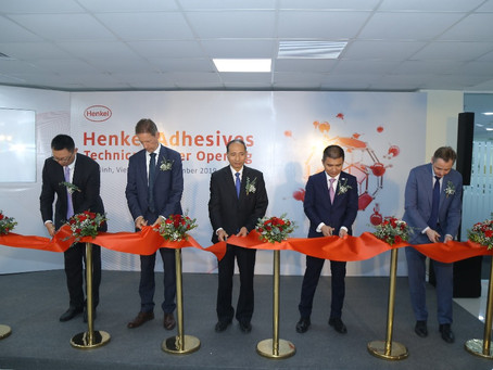 (press release) Henkel opens new Technical Center for adhesive solutions in Vietnam