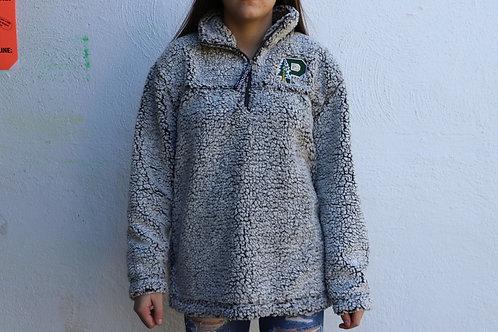 Quarter Zip Sherpa Jacket