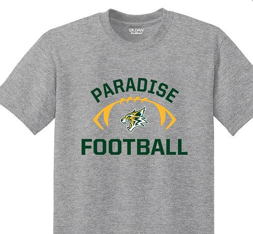 Bobcat Football Gray T-shirt